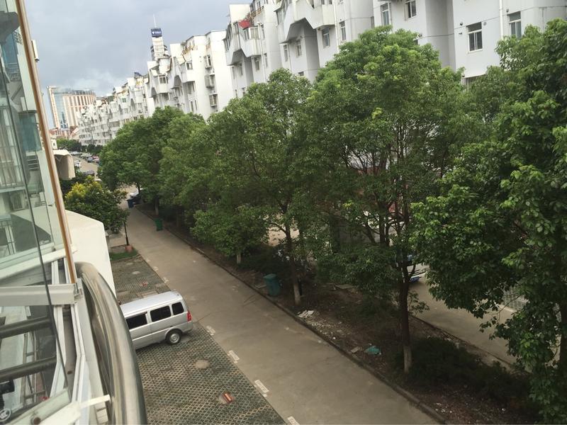 从阳台看到的景色